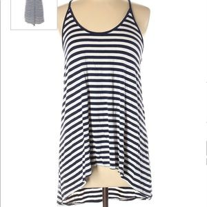 Cable &Gauge black&white nautical tunic/top
